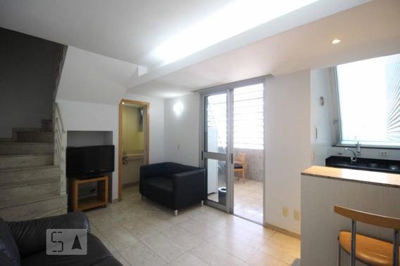 Apartamento No 17º Andar Mobiliado Com 1 Dormitório E 1 Garagem - Id: 892969490 - 269490