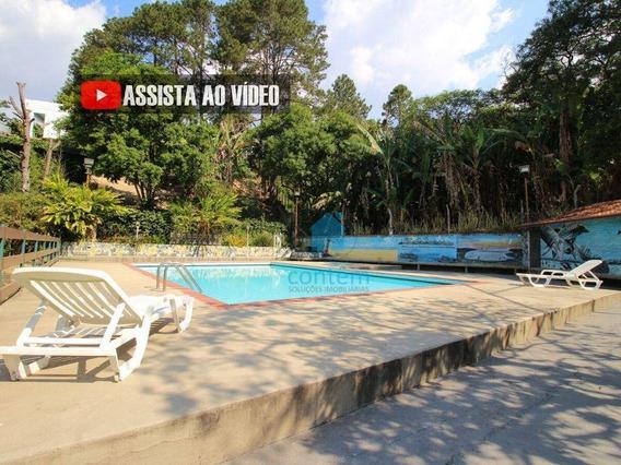 Ch0008- Chácara Com 2 Dormitórios Para Alugar, 3000 M² Por R$ 3.000/mês - Parque Mira Flores - Itapevi/sp - Ch0008