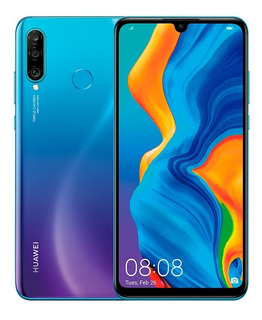 Celular Libre Huawei P30 Lite Ds 4g Azul