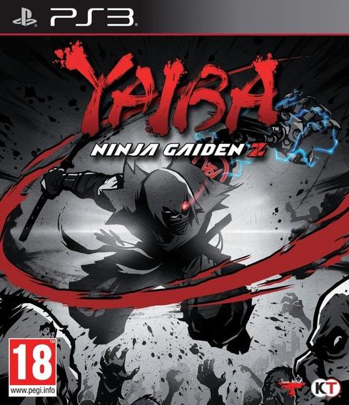Jogo Ps3 Yaiba Ninja Gaiden Z Midia Física Novo Lacrado!