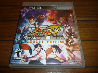 Super Street Fighter 4 Ps3