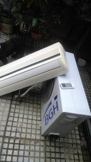 Aire Split Bgh 3200 Fgs Reciclado A Motor Nuevo Sólo Frío.