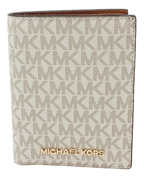 Pasaporte Billetera Michael Kors 100% Original Jet Set Trave