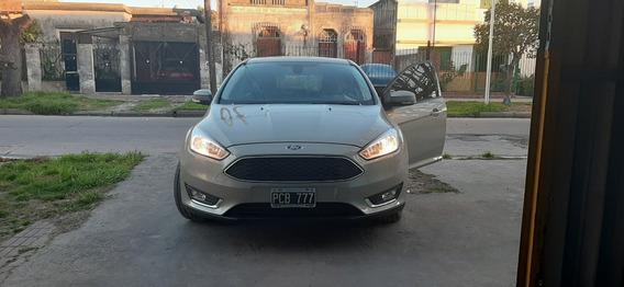Ford Focus Iii Se Plus 2.0 2015 65000km Mt Color Champagne