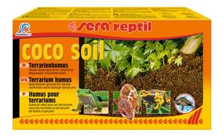 Sustrato P/terrarios Húmedos Reptiles. Sera Coco Soil