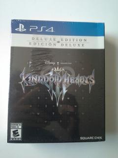 Juego Kingdom Hearts 3 Deluxe Edition Ps4 Nuevo Y Sellado