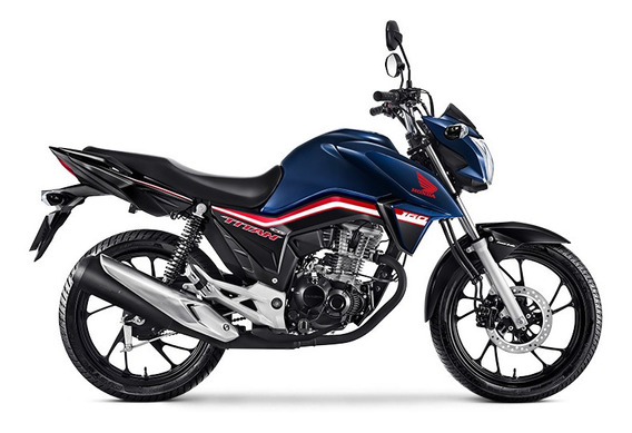 Honda Cg Titan 160 Ex 0 Km 2019/2020