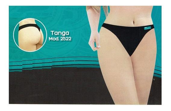 3 Tangas Body Siluette Modelo 2522 Nylon Reforzado