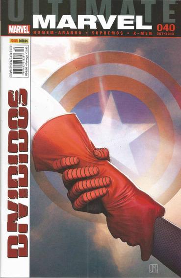 Ultimate Marvel 40 1ª Serie - Panini - Bonellihq Cx33 D19