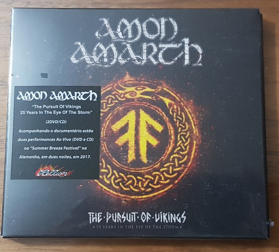 Amon Amarth- The Pursuit Of Vikings Cd Dvd