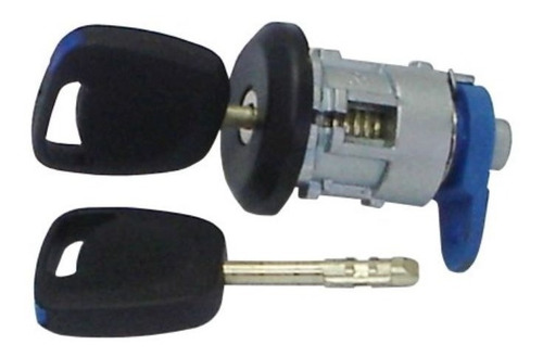 Imagem 1 de 3 de Cilindro Miolo Porta-malas Com Chaves Ford Ka 2008 A 2013