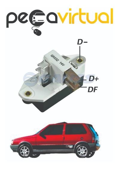 Regulador Voltagem 14v 75a Gm Fiat Gauss Ga032 Uno 1.6r