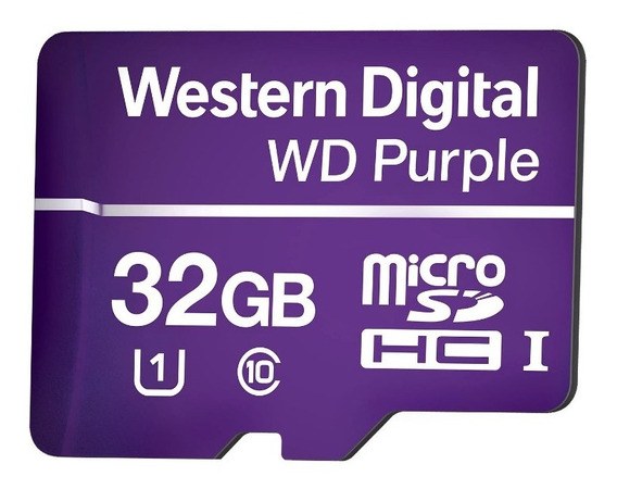 Cartão Micro Sd 32 Gb Intelbras Purple