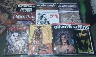 Historietas Y Novelas Gráficas. Lote De 10 Títulos Nuevos.