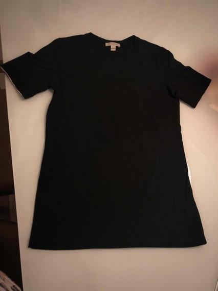 Blusa Burberry Preta / Camiseta/ Blusinha P