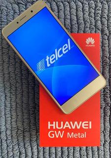 Huawei Mate P8 32gb Telcel + Tarjeta Micro Sd 16gb Y Finda!!