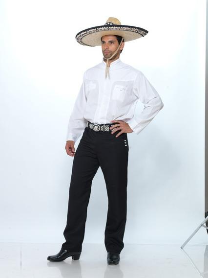 Camisa Pachuqueña De La Talla 30 A La 50
