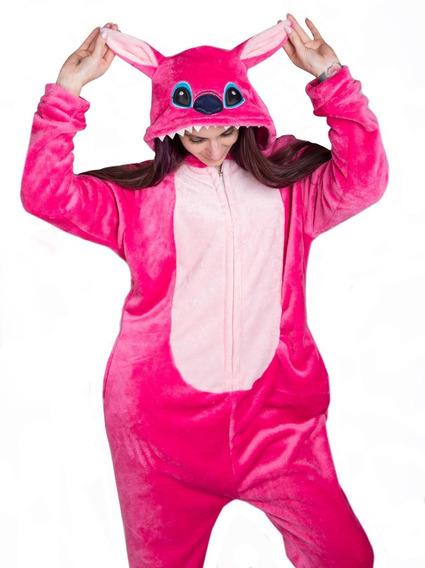 Pijama Kigurumi Stich Plush Importado Unicornio Cuotas