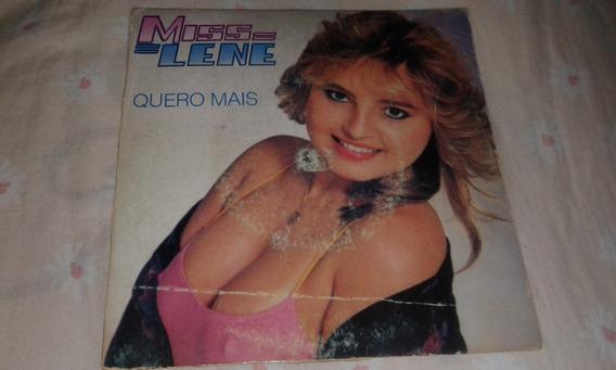 Lp Vinil Compacto Miss Lene - Quero Mais (1982) Frete Grátis
