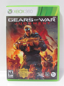 Gears Of War Judgment Xbox 360 Original Completo Americano