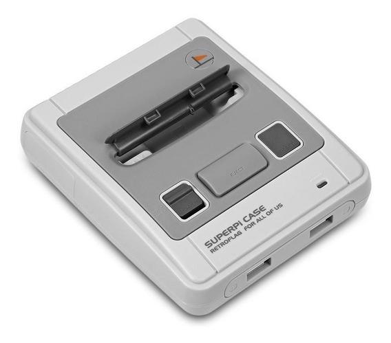 Case Super Famicom Retroflag Para Raspberry Pi3+