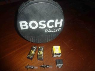 Faro Halogeno Bosch Rallye + 3 Focos + Relais + Protector