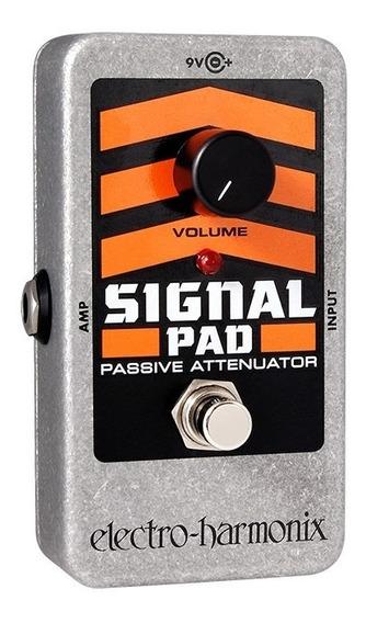 Pedal Atenuador Electro-harmonix Signal Pad Nyc Usa C/ Nf-e