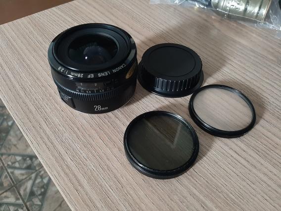 Lente Canon 28mm 2.8 Japão