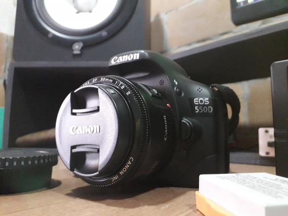 Canon 550d (usada)