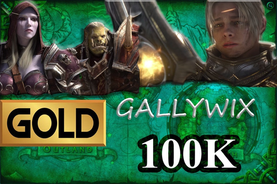 Gold Wow - 100k Gallywix