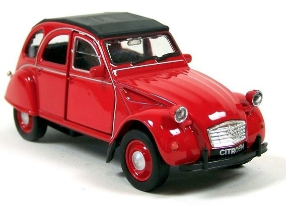 Citroen 2cv Escala 1:36 Welly Rojo