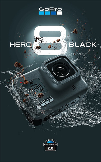 Cam Gopro Hero Black 8 4k 12mp Live Streaming Stabilization