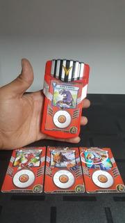 Bandai Digimon Fusion Digifusion Con 4 Cartas Emite Sonido