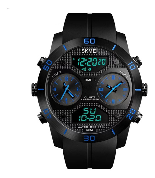 Relógio Masculino Skmei 1355 Caixa Grande