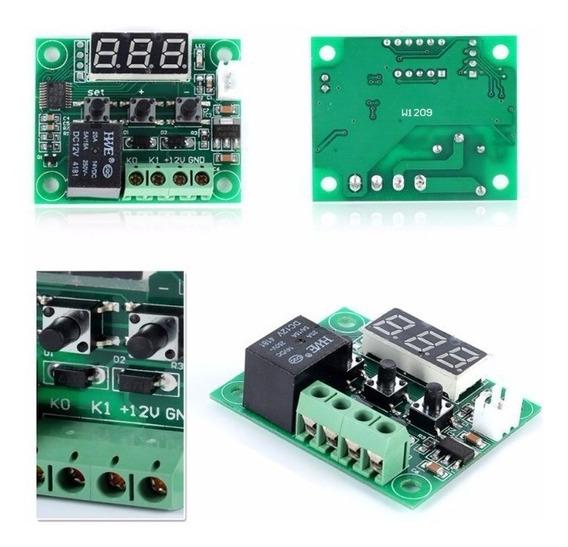 Termostato Digital W1209 Controle De Temperatura Chocadeira