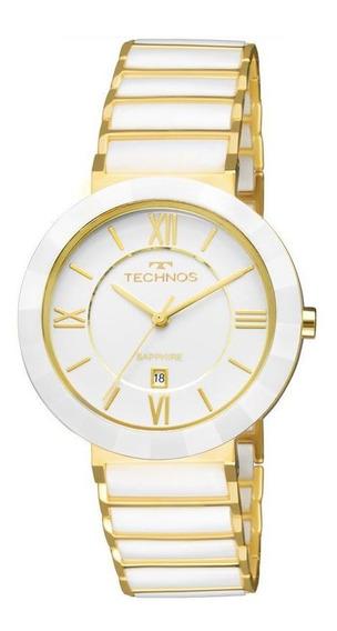 Relógio Technos Feminino Ceramic Sapphire 2015ce/4b