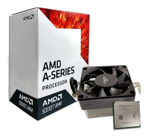 Processador Amd A10-9700 3.8ghz 2mb Cache Am4 - Ad9700agabbo