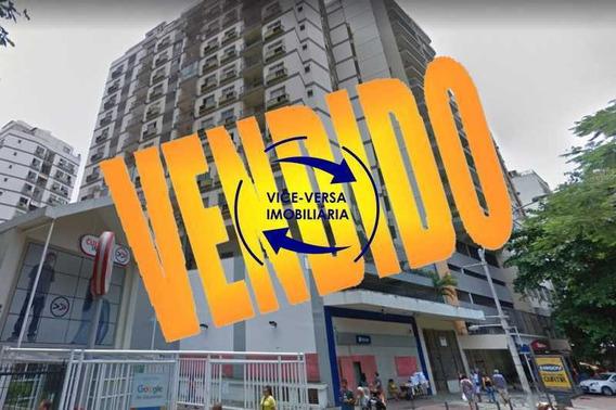 Apartamento 2 Quartos À Venda No Flamengo - Rua Marquês De Abrantes, 62m², Varanda, 1 Suíte, Cozinha Americana, Área De Serviço, 1 Vaga Na Escritura E Prédio Com Infraestrutura! - 1361
