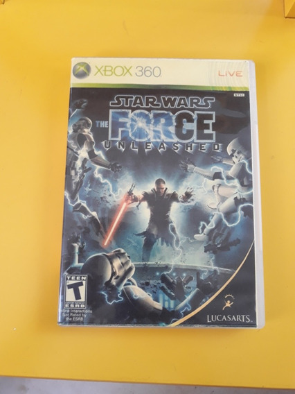 Jogo Starwars The Force Unleashed Xbox 360 Europeu Pal