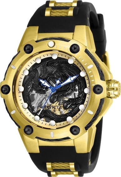 Relógio Unissex Invicta Bolt 26385 Gold Black