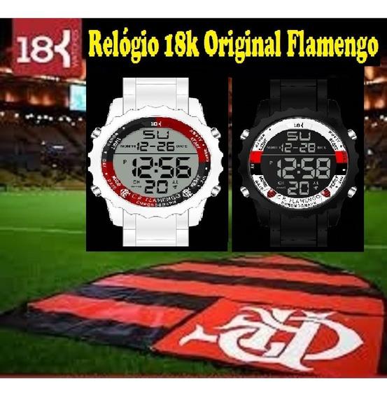 Relógio 18k Flamengo Original A Prova D