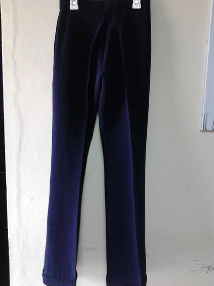 Pantalon Vértigo T - S Azul Dama