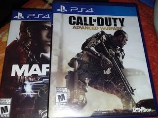 Video Juego Para Ps4 Magia 3 + Call Of Duty Advanced Warfare