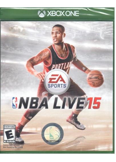 Nba Live 15 Xbox One Mídia Física Lacrado