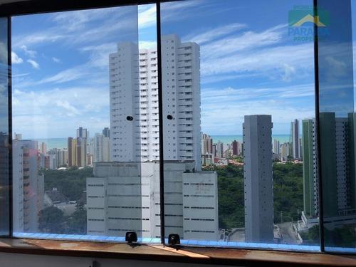 Imagem 1 de 15 de Apartamento Luxo À Venda - Vista Definitiva - Miramar -  João Pessoa - Pb - Ap1243