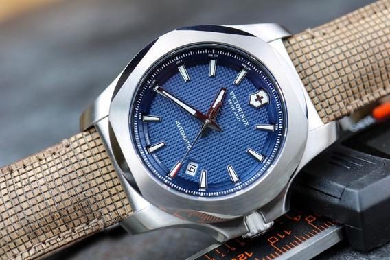 Relógio Victorinox Swiss Army Inox Blue Automatic 241834