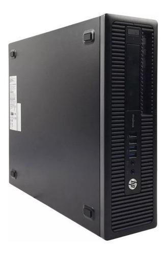 Cpu Hp Prodesk 600 G1 - I3-4150 / 4gb Hd 500 Windows 7