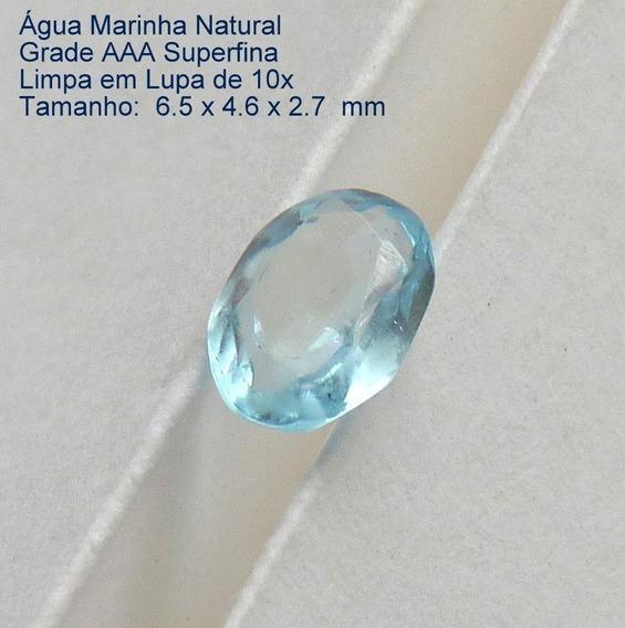 Água Marinha Pedra Preciosa Natural 6550