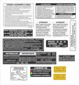 Kit Adesivo Etiquetas Honda Cbx 750f 7galo Cbxad