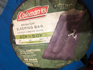 Slepping Bag Columbia Brighton Original , Excelente Estado